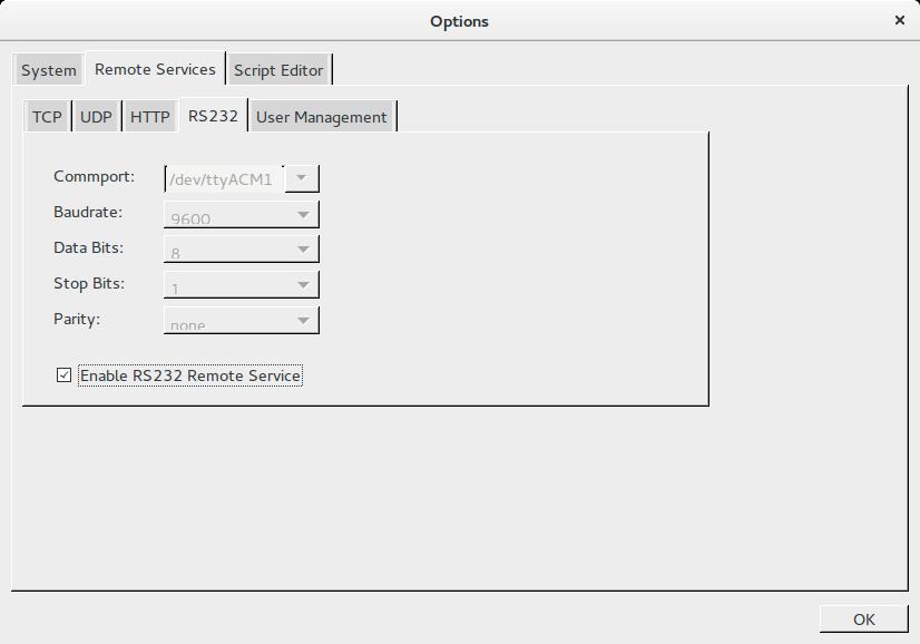 RS232 Remote Service