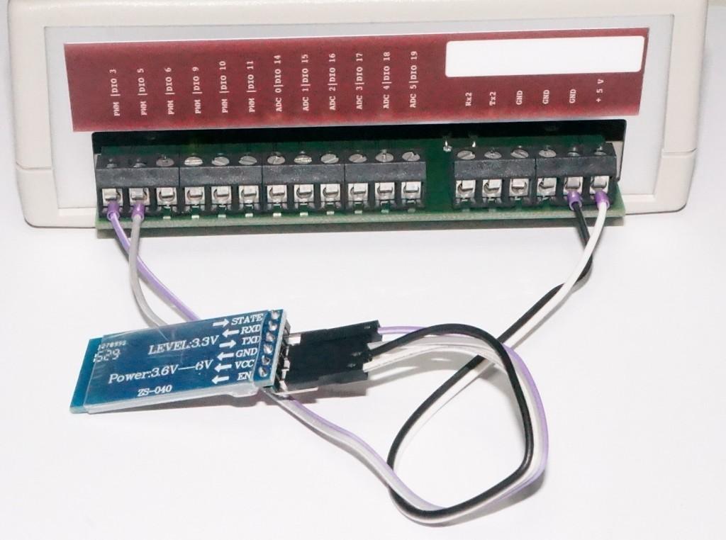 V-IO HC05 Bluetooth connection